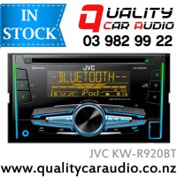 JVC KW-R920BT Bluetooth CD USB AUX ipod NZ Tuners 3x Pre Outs with Easy Layby
