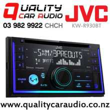 JVC KW-R930BT Bluetooth CD USB AUX NZ Tuners 3x Pre Outs Car Stereo with Easy Finance