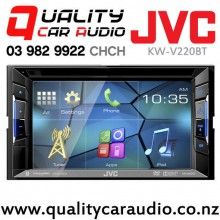 "JVC KW-V220BT 6.2"" Bluetooth DVD USB AUX NZ Tuners 3x Pre Outs with Easy Layby"