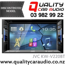 """JVC KW-V220BT 6.2"""" Bluetooth DVD USB AUX NZ Tuners 3x Pre Outs with Easy Layby"""