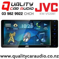"JVC KW-V520BT 7"" Bluetooth DVD CD USB AUX NZ Tuners For Toyota with 200mm facial with Easy LayBy"