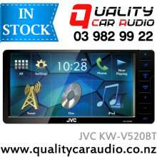 """JVC KW-V520BT 7"""" Bluetooth DVD CD USB AUX NZ Tuners For Toyota with 200mm facial with Easy LayBy"""