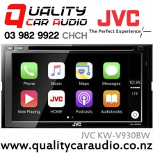"JVC KW-V930BW 6.8"" Apple Car Play Bluetooth DVD USB AUX NZ Tuners 3x Pre Outs Car Stereo with Easy LayBy"