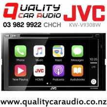 "JVC KW-V930BW 6.8"" Apple Car Play & Android Auto Bluetooth DVD USB AUX NZ Tuners 3x Pre Outs Car Stereo with Easy Finance"