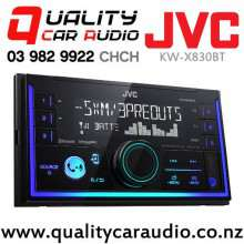 JVC KW-X830BT Dual Bluetooth USB AUX NZ Tuners Spotify 2x Pre Outs Car Stereo with Easy Finance