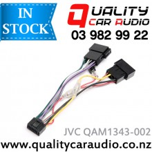 JVC QAM1343-002 for late model Kenwood / JVC to ISO Harness with Easy LayBy