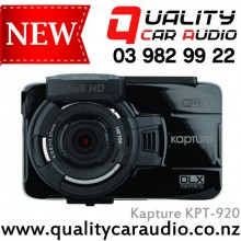 Kapture KPT-920 DLX Series In Car Dash Cam with GPS Wi Fi & ADAS - Easy LayBy