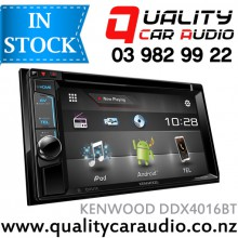 """Kenwood DDX4016BT 6.2"""" Bluetooth (2 Phones) DVD USB AUX NZ Tuners 3x Pre Outs with Easy Layby"""