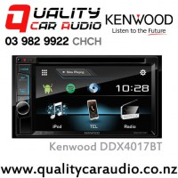 "Kenwood DDX4017BT 6.2"" Bluetooth (2x Phone Full Time Connection) DVD CD USB AUX Android 3x Preouts Car Stereo with Easy LayBy"