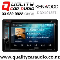 Kenwood DDX4018BT Dual Bluetooth DVD CD USB AUX Android 3x Preouts Car Stereo with Easy Finance