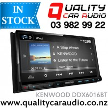 """Kenwood DDX6016BT 7"""" Bluetooth DVD USB AUX NZ Tuners 3x Pre Outs with Easy Layby"""
