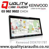 "Kenwood DDX7017BT 7"" Bluetooth (2 Phone Full Time Connection) DVD USB AUX Android Support Mirrow Link Car Stereo with Easy LayBy"