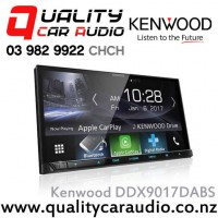 "Kenwood DDX9017DABS 200mm Wide Panel 7"" Bluetooth Android Auto/Apple CarPlay USB AUX 3x Preout Car Stereo with Easy LayBy"