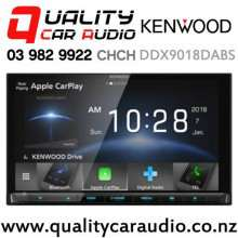 Kenwood DDX9018DABS Dual Bluetooth Apple CarPlay & Android Auto DVD USB NZ Tuners 3x Pre Outs Car Stereo with Easy Finance