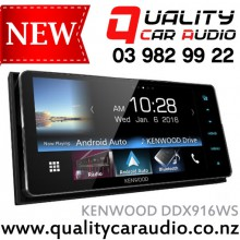 """KENWOOD DDX916WS 7"""" DVD BT USB AUX Android Auto Unit - Easy LayBy"""