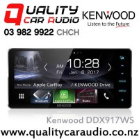 "Kenwood DDX917WS 200mm Wide Panel 7"" Bluetooth Androdi Auto/Apple CarPlay USB AUX 3x Preout Car Stereo with Easy LayBy"