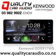 """Kenwood DDX917WS 200mm Wide Panel 7"""" Bluetooth Androdi Auto/Apple CarPlay USB AUX 3x Preout Car Stereo with Easy LayBy"""