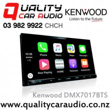 """Kenwood DMX7017BTS 7"""" Bluetooth Android Auto/Apple CarPlay USB AUX 3x Preout Car Stereo with Easy LayBy"""