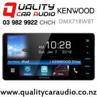 """Kenwood DMX718WBT 200mm Panel 7"""" Dual Bluetooth WebLink USB Android Support 3x Preouts Car Stereo with Easy Finance"""