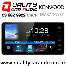 "Kenwood DMX718WBT 200mm Panel 7"" Dual Bluetooth WebLink USB Android Support 3x Preouts Car Stereo with Easy Finance"