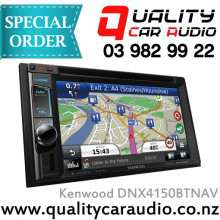 "Kenwood DNX4150BTNAV 6.2"" DVD BT USB AUX NAV Unit - Easy LayBy"