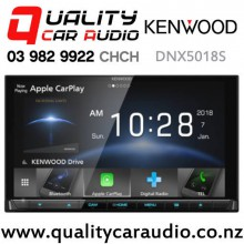 Kenwood DNX5018S Dual Bluetooth Apple CarPlay & Android Auto Waze Nav-app DVD USB NZ Tuners 3x Pre Outs Car Stereo with Easy Finance