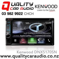 "Kenwood DNX5170SN 6.2"" Navigation(map include) Bluetooth Apple CarPlay USB 3x Preout Car Stereo with Easy LayBy"
