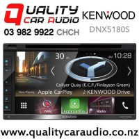 Kenwood DNX5180S Apple CarPlay and Android Auto Navigation Bluetooth USB DVD NZ Tuners Car Stereo with Easy Finance