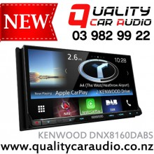 """KENWOOD DNX8160DABS 7"""" Android Auto CarPlay GARMIN NAVIGATION and much more with Easy LayBy"""