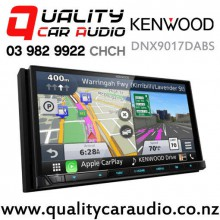 "Kenwood DNX9017DABS 7"" Navigation (map incl) Apple CarPlay Android Auto USB 3x Pre Outs 2x Camera Input Car Stereo with Easy Finance"
