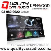 "Kenwood DNX9170DABSN 7"" Navigation(map include) Bluetooth Android Auto/Apple CarPlay USB 3x Preout Car Stereo with Easy LayBy"