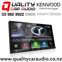 "Kenwood DNX9170DABS 7"" Navigation(map include) Bluetooth Android Auto/Apple CarPlay USB 3x Preout Car Stereo with Easy Finance"
