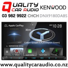 Kenwood DNX9180DABS Navigation Dual Bluetooth Apple CarPlay & Android Auto DVD USB NZ Tuners 3x Pre Outs Car Stereo with Easy Finance