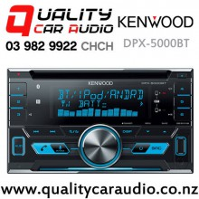 Kenwood DPX-5000BT Dual Bluetooth CD USB AUX NZ Tuners 3x Pre Outs Car Stereo with Easy Finance