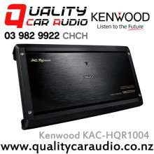 Kenwood KAC-HQR1004 1000W 4 Channel Car Amplifier with Easy LayBy