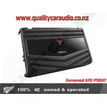 Kenwood KAC-PS847 800W 4/3/2 Bridgeable Channels Car Power Amplifier with Easy Layby
