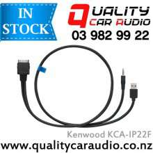 Kenwood KCA-IP22F ipod iPhone Direct Connect Cable for Music and Video Playback with Easy LayBy