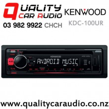 Kenwood KDC-100UR USB CD AUX NZ Tuners 1x Pre Out Car Stereo with Easy Payments