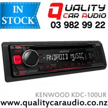 KENWOOD KDC-100UR CD USB AUX NZ Tuners 1x Pre Out with Easy Layby