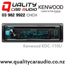 Kenwood KDC-110U Android CD USB AUX 2x Preouts Car Stereo with Easy LayBy