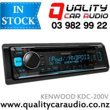 Kenwood KDC-200UV CD USB AUX Iphone NZ Tuners 2x Pre Outs with Easy Layby