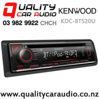 Kenwood KDC-BT520U Bluetooth CD USB AUX NZ Tuner 1x Pre Out Car Stereo with Easy Finance