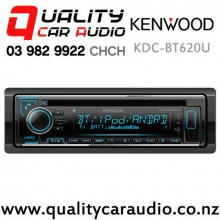 Kenwood KDC-BT620U Dual Bluetooth CD USB AUX NZ Tuners 3x Pre Outs Car Stereo with Easy Finance