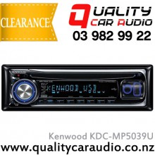 Kenwood KDC-MP5039U CD USB WMA AUX NZ Tuners Car Stereo with Easy Layby