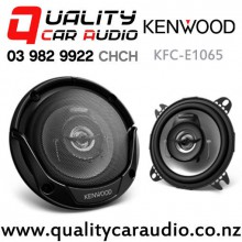 "Kenwood KFC-E1065 4"" 210W (21W) 2-Way Coaxial Car Speakers (pair) with Easy Finance"