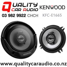 "Kenwood KFC-E1665 6.5"" 2 Ways 300W (30W RMS) Coaxial Car Speakers (Pair) with Easy Finance"