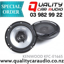 "Kenwood KFC-E1665 6.5"" 2 Ways 300W Coaxial Car Speakers (Pair) with Easy Layby"