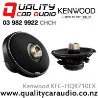 "Kenwood KFC-HQR710EX 6x9"" 700W (155W RMS) 2 Way Coaxial Car Speaker with Easy LayBy"