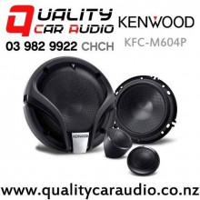 "Kenwood KFC-M604P 6"" 270W (60W RMS) 2 Ways Component Car Speakers (Pair) with Easy Finance"