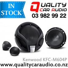"Kenwood KFC-M604P 6"" / 6.5"" (16cm) 2 Ways Component Car Speakers (Pair) with Easy Layby"